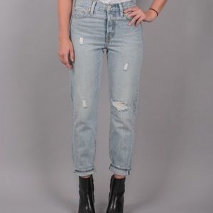 Levi's Wedgie Fit Icon Selvedge Jeans Desert Delta